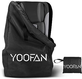 YOOFAN Gate Check reistas met rugzak, schouderriem voor kinderwagen, autokinderzitjes, rolstoelen, waterafstotend, goed vo...