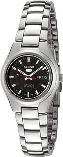 Women's SYMC27 Seiko 5 Automatic Black Dial Stainless Steel Watch