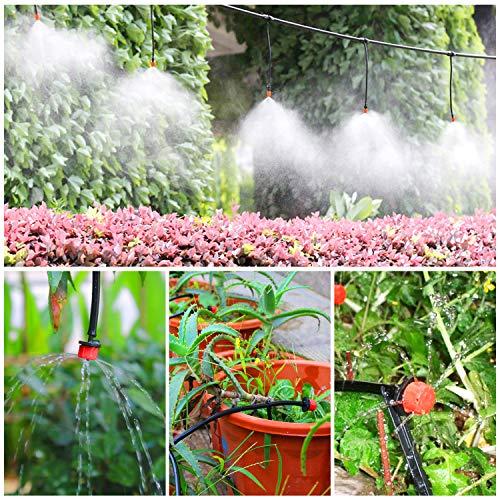 Sistema de riego de jardín, Emooqi 149 Pcs Goteros para Equipos de ...