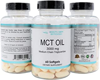 Beaver Brook MCT Oil, Perfect for Keto and Paleo Diet, 100% Non-GMO Ketogenic Friendly, Sugar Free Energy, Responsibly Sou...