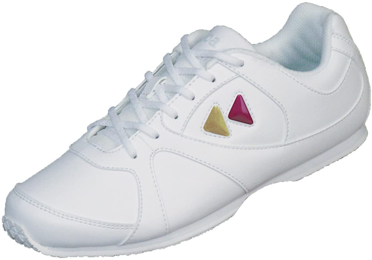 Kaepa Youth Cheerful Cheer Shoe with Color Change Snap in Logo