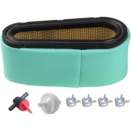 Air Filter Fuel Filter /& Valve Spark Plug Kits for Briggs /& Stratton 12.5-17 HP