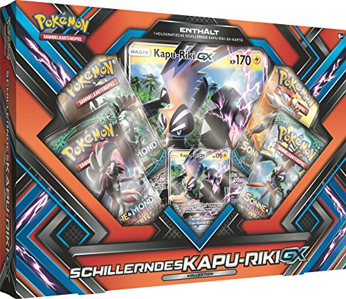 Pokemon 25957 Pokémon Company International 25957-PKM Shiny Kapu-Riki-GX Box DE, bunt