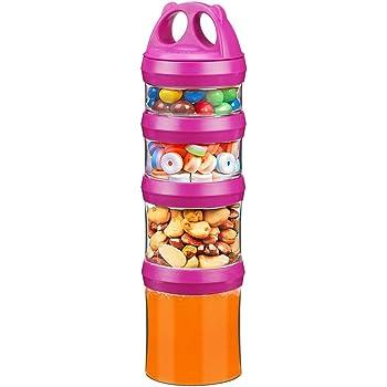 Flip Open Milk Powder Snack Bottle Food Container For Baby Infant Toddler
