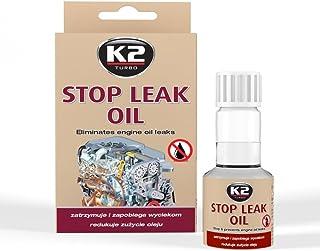 K2 Öl Stopp, Motorendichtung, Motorölleckstop, Ölverluststopp, Engine Leak Stopp, dichtet den Motor bei Ölverlust ab, 50ml