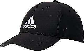 Adidas, Bballcap Lt Emb, Baseball Cap, Black/Black/White, Osfm, Adult Unisex