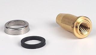 Sanfor Repuesto de cono de olla a presión tipo adaptable a Magefesa corto | Recambio que Incluye arandela de goma y embellecedor metálico | Dorado
