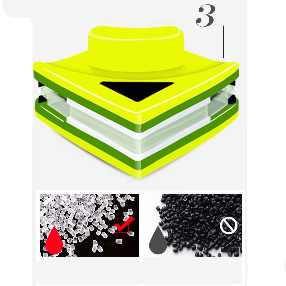 Limpiador doble lateral magnético para cristales, magnético, doble cristal, con Wiper para glider equipo de limpieza de cepillo para limpiaparabrisas de alta dureza de 8 a 15 mm de grosor.: Amazon.es: Hogar