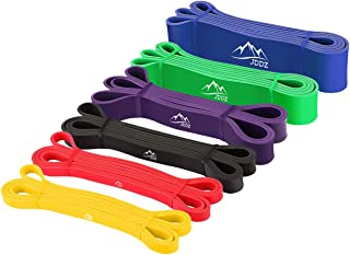 JDDZ SPORTS Pull up Resistance and Assist Bands, Workout Bands | Powerlifting Bands,Mobility Stretch Bands,...