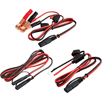 Set of 5 Battery Tender Quick Disconnect Harness For Batteries