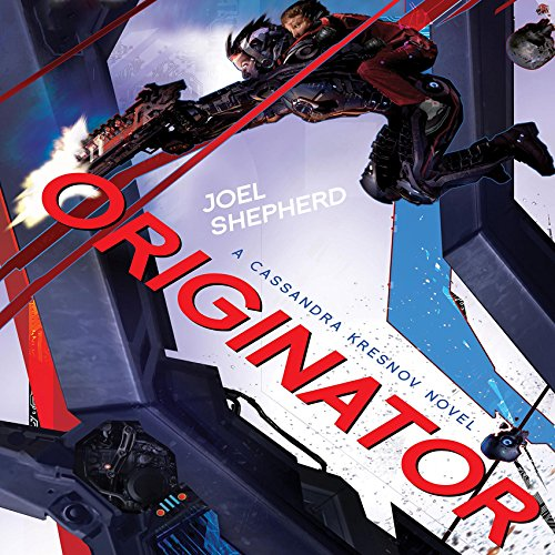 Originator audiobook cover art