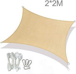 Allein Solin 40 Pezzi di Fissaggio per Tenda Parasole moschettone Fissaggio a Vela Parasole Vite e Estensione in plastica tenditore in Acciaio Inox in Acciaio Inox Supporto da Parete