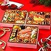 島の人 北海道 高級海鮮 蟹入り おせち あつもり [4人前 特大8寸 42品 盛り付け済] 【12月28~29日お届け】
