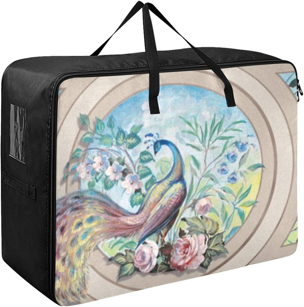 Liaosax Garment Bag Women Animer and price revision Beautiful and Clothes Peacock Selling selling Flowers