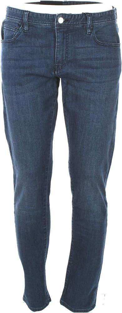 Armani exchange, jeans per uomo,99% cotone, 1% elastan 8NZJ14Z884Z-1500-33