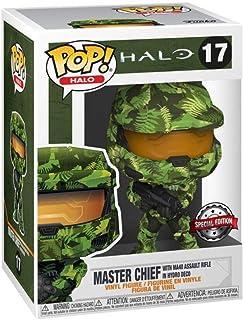 Funko Halo Master Chief con rifle de asalto MA40 en Hydro Deco