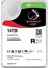Seagate IronWolf Pro 14 TB NAS RAID Internal Hard Drive - 7,200 RPM SATA 6 Gb/s 3.5-inch (ST14000NE0008)