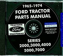 COMPLETE And FULLY ILLUSTRATED 1971, 1972 1973 1974 FORD TRACTOR PARTS MANUAL CD Includes 2000 3000 4000 5000 & 7000 Series
