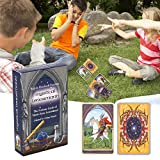 Mystical Lenormand Oracle Tarjeta, Destiny Previnast Card Set Family Party Solitaire Juego Destiny Destiny Deck Game Table Party Puzzle Board Juego