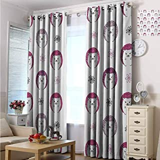 Easy Care Privacy Protection Grommet Window Panels 72