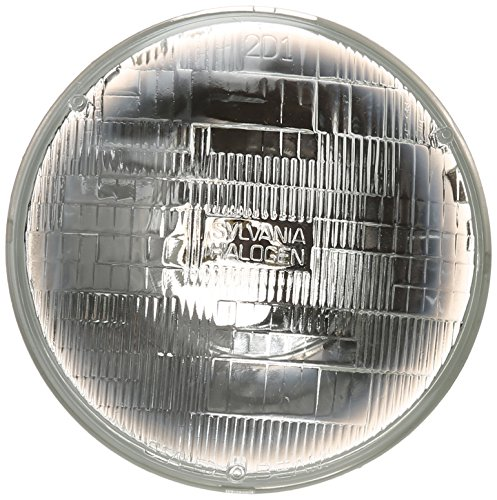 SYLVANIA H6024 Basic Halogen Sealed Beam Headlight (7' Round) PAR56, (Contains 1 Bulb)