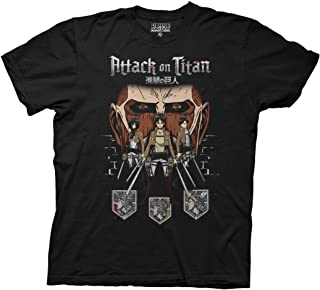 Attack on Titan Titan in Shadow Adult T-Shirt