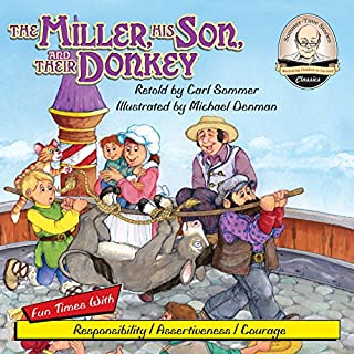 The Miller, His Son, and their Donkey cover art