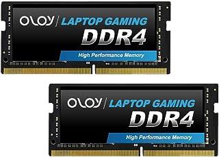 オルオイOLOy ノートPC用 SO-DIMM for Intel DDR4 2400MHz PC4-19200 16GB(2×8GB)CL17 1.2V 260pin 無期限保証(MD4S082417IZDC)