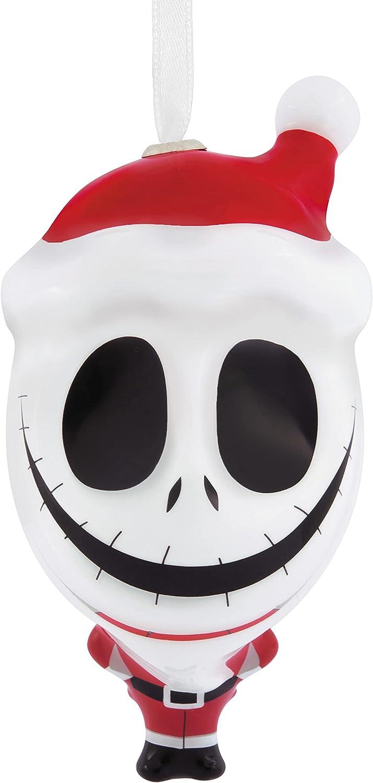 Hallmark Disney Tim Burton's The Nightmare Before Christmas Jack as Sandy Claws Decoupage Christmas Ornament
