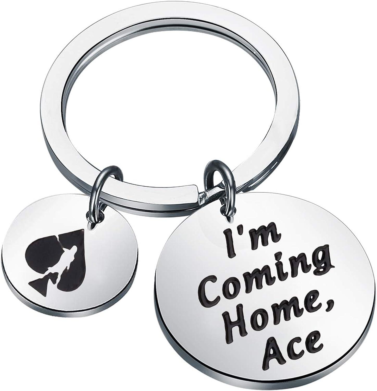 TGBJE Destiny Fan Gift Destiny Keychain I'm Coming Home Ace Ace Of Spades Destiny 2 Gift