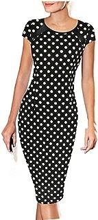 Women Dress, 2017 Women Short Sleeve Sexy Slim Party Cocktail Pencil Dress
