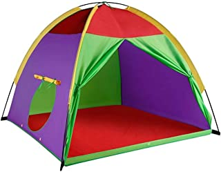 "Alvantor Kids Tents Indoor Children Play Tents For Toddler Tents For Kids Pop Up Tent Boys Girls Toys Indoor Outdoor Play Houses 8017 Giant Party 58""x58"