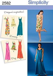Simplicity 2582 - Patrones de Costura para Hacer Vestidos de Fiesta (R5 14-16