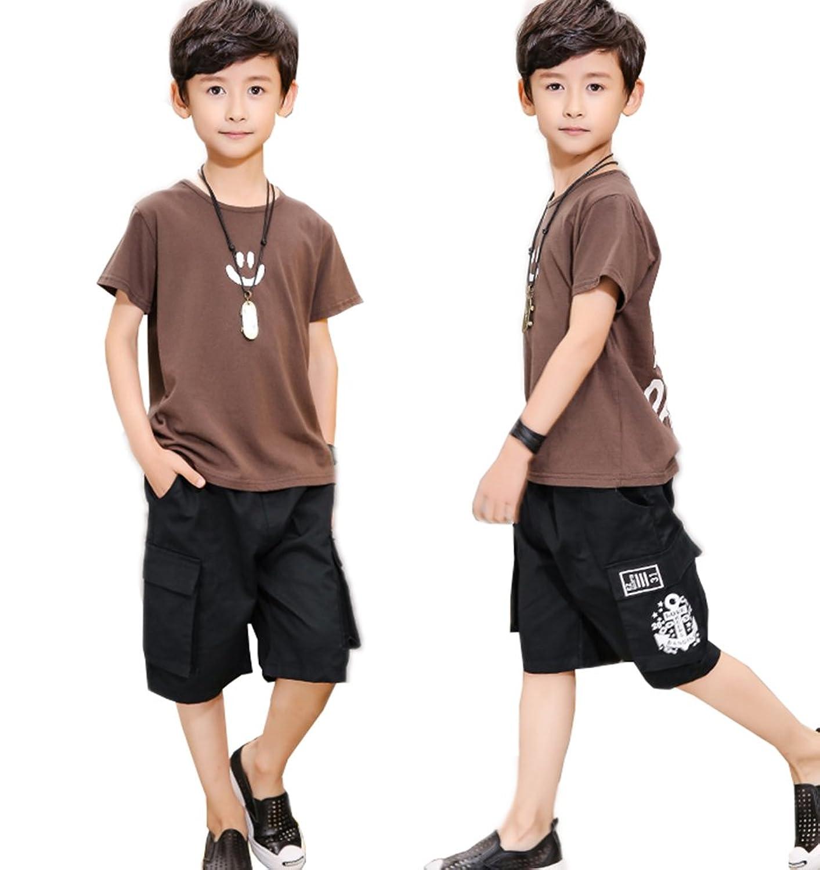 子供服 男の子 セットアップ キッズ Tシャツ 半袖 Tシャツ&パンツ 上下セット ショートパンツ ベビー 男の子 夏 可愛い 普段着 お出かけ