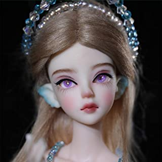 ZDD Tate Wave Elves Doll, 1/6 BJD Doll Resin Toys for Kids Surprise Gift for Girls Birthday Doll Accessories Tiny Cute Toy...