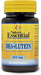DHA + luteina 615 mg. 50 perlas