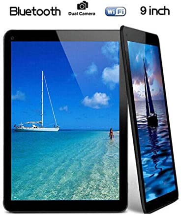 """$69 Get Christmas 9"""" Inch Android Tablet PC,1GB RAM 16GB Storage Phablet Tablet Quad Core Unlocked Tablets, Dual Camera TF Card Slots, WiFi, GPS, Blue-Tooth 4.0,800 480 HD IPS Screen Display, Google Pl"""