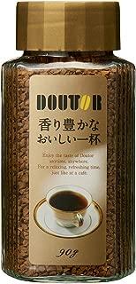 ドトールコーヒー インスタントコーヒー 香り豊かなおいしい一杯(FD) 90g ×2個