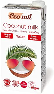 EcoMil | Coconut Nature | Sin Azucar | 1L x 6 pack