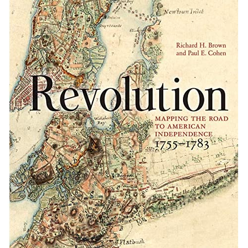 Revolution Mapping The Road To American Independence 1755 1783 - Map-of-us-during-revolutionary-war
