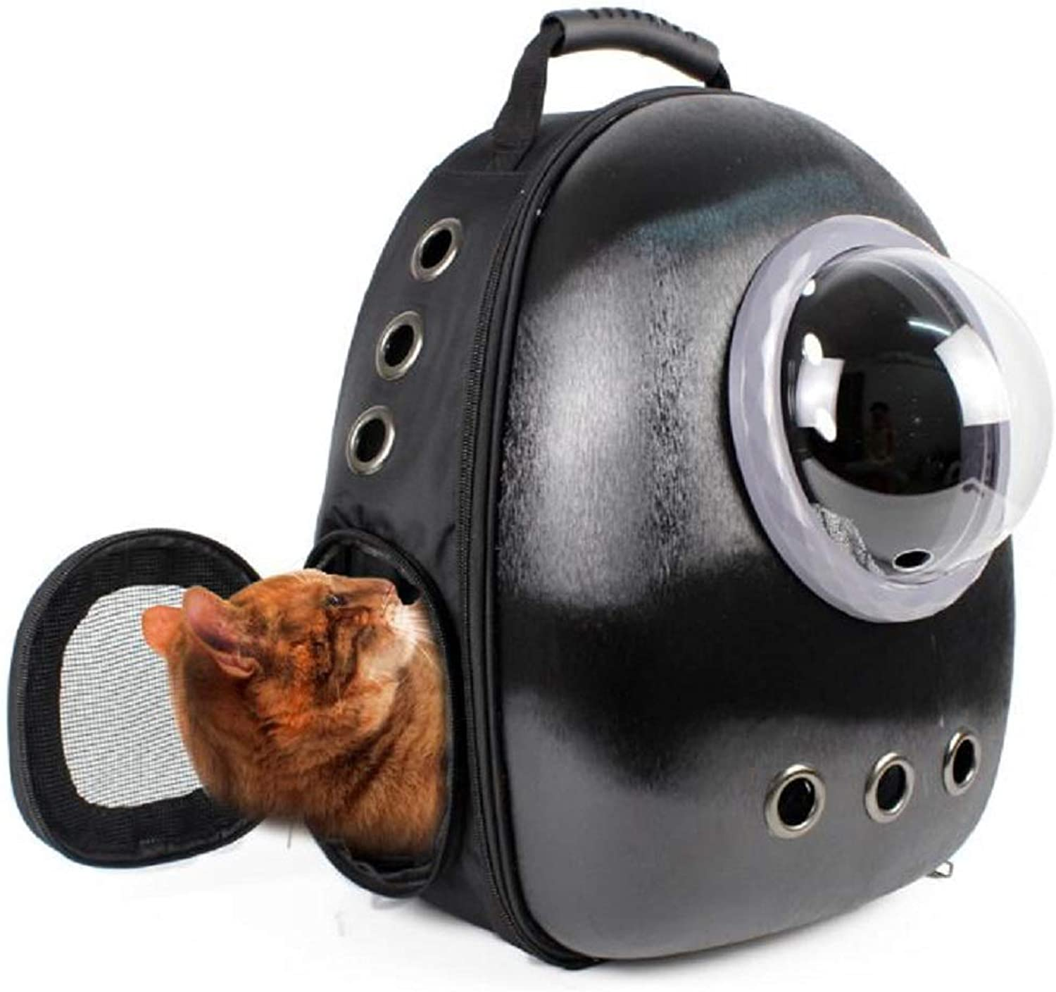 GDDYQ Pet Bag, Portable Out Carrying Bag Cat Puppy Travel Pet Backpack New Space Capsule Astronaut Carrier Bag