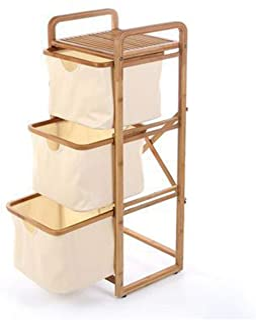 WZHZJ Creative and Practical Floor Storage Rack Hamper Storage Box Bathroom Storage Rack Bathroom Shelf