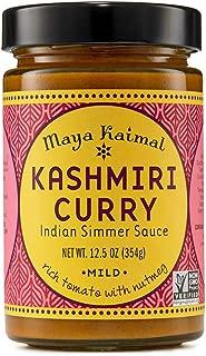 Maya Kaimal Kashmiri Curry Indian Simmer Sauce, 12.5 Ounce, Mild