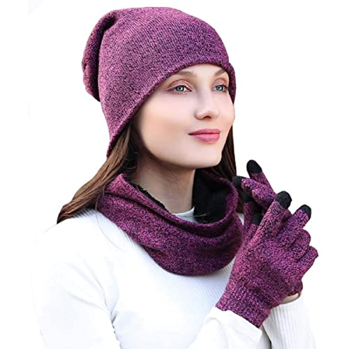 edcf0be41d13ee Hat Scarf and Glove Set, Youson Girl® Men and Women Winter Scarf and Hat