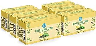 Marca Amazon - Happy Belly Bolsitas de té verde al limón (150 bolsitas)