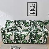 WXQY Fundas con Estampado Floral Funda de sofá elástica elástica Funda de sofá con protección para Mascotas Esquina en Forma de L Funda de sofá con Todo Incluido A26 2 plazas