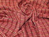 Lady McElroy Highland Tweed Beschichtung Stoff Himbeere –