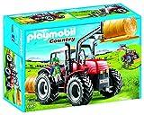 PLAYMOBIL- Tractor Figura, Multicolor, única (6867)