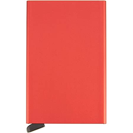 Secrid Cardprotector, credit card holder in red with RFID protection, 6 cards
