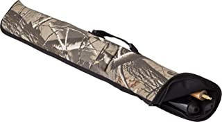 Viper Billiard/Pool Cue Soft Vinyl Case, Holds 1 Complete 2-Piece Cue (1 Butt/1 Shaft), Realtree Hardwoods HD Camo
